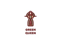 Green Queen Logo - Day 70