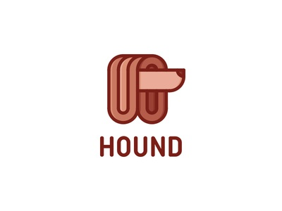 Hound Logo - Day 84 style hairstyle greyhound shelter elegant mascot illustration outline line beauty shop last spark one day one logo logo animal pets pet afghan dog hound