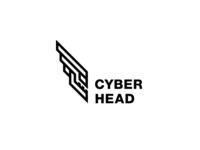 Cyber Head Logo - Day 92