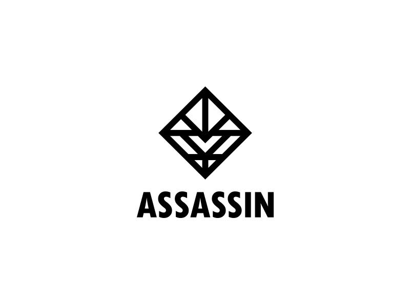 Assassin Logo - Day 93 security last spark one day one logo logo geometry square rhombus cyber cybersport team command sport gamer game mascot assassin slayer murderer killer