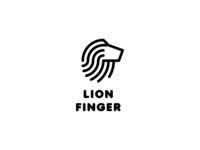 Lion Finger Logo - Day 104