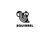 Squirrel Logo - Day 107