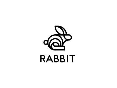 Rabbit Logo - Day 113 food restaurant cafe ecology eco farmer fast fitness healthy speed vegan last spark one dya one logo logos logo mascot bunny farm rabbit carrot