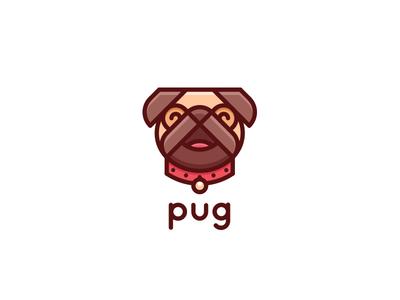 Pug Logo - Day 122 mops happy cute veterinary doctor vet mark last saprk one day one logo logos logo for sale brand mascot pet shop animal pets pet dog pug