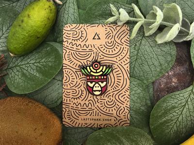 Monkey Emanel Pin