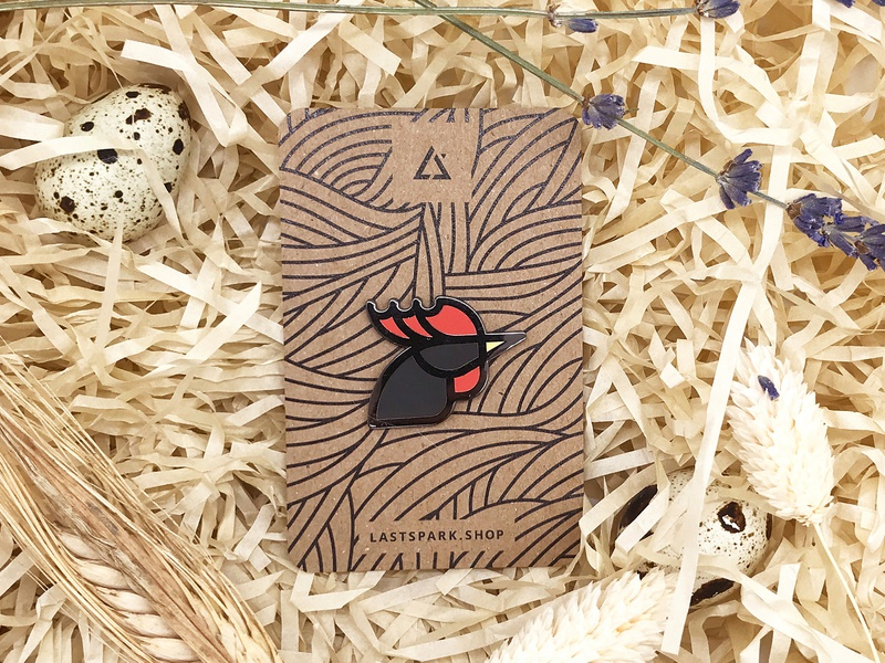 Rooster Enamel Pin For Sale