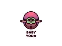 Baby Yoda Logo
