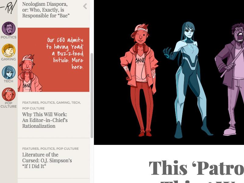 Random Nerds Avatars character design avatar
