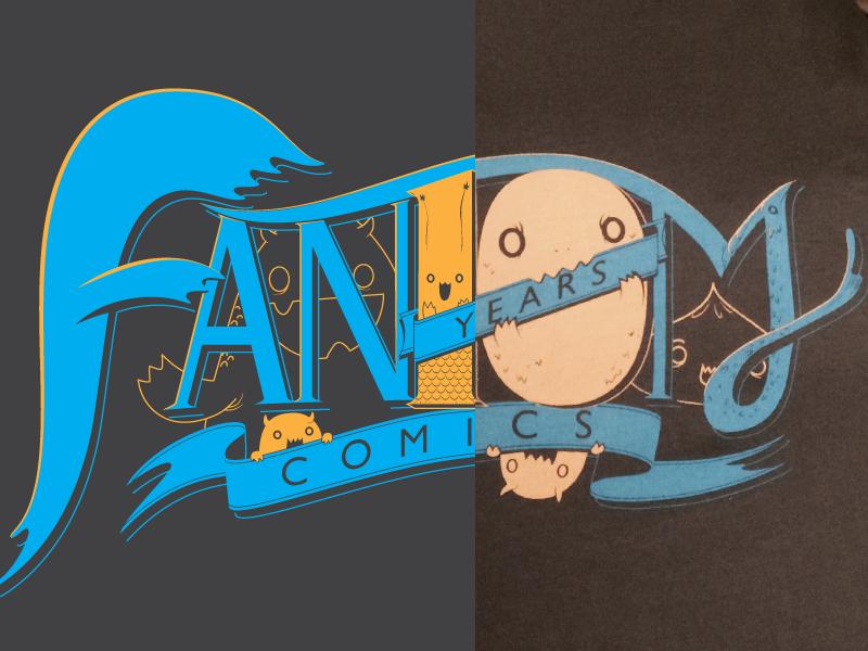 Fantom Comics 10th Anniversary Shirt cute monsters shirt comics