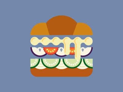 Dribbble sandwich