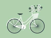 A Vintage Tea Party Bicycle