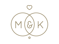 M&K Wedding Logo