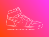 Line Illustration - Air Jordan 1