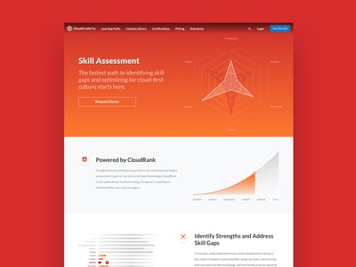 Skill Assessment Public Page page landing assessment skill