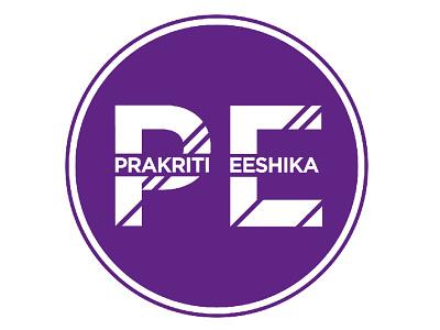 Prakriti Eeshika - Personal Logo Design logo design branding graphic design vector illustration