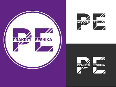 Prakriti Eeshika - Logo Variations logo design branding graphic design vector illustration