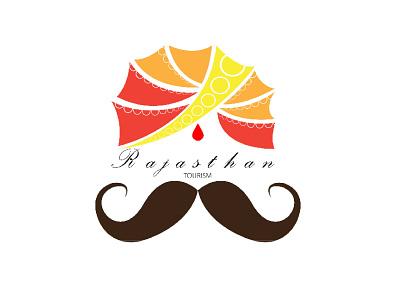 Rajasthan Tourism - Logo Design branding logo design graphic design vector illustration