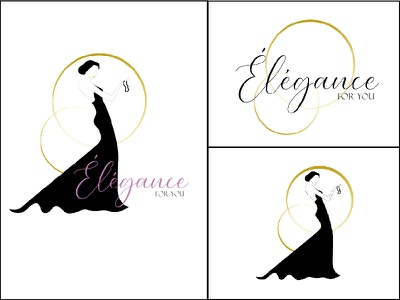 Elegance for you : Logo Variations branding logo design graphic design vector illustration