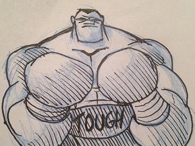 Boxer sketch sm