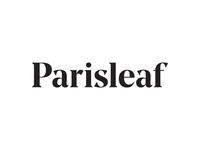Parisleaf Logotype custom wordmark logotype identity branding