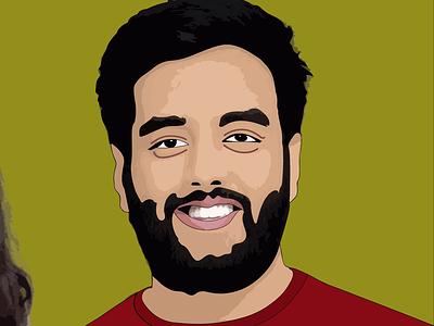 Yashraj mukhate music yashraj design digital art vector illustration graphic design