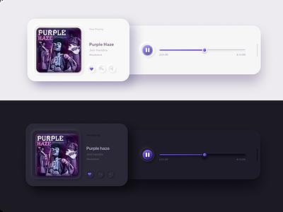 Neomorphism music player player player ui music player ui design ux uiux appuidesign appui app ui