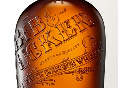 Bib & Tucker Bourbon lettering handdrawn type typography bourbon packaging logo design letters calligraphy graphics branding