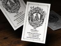 DragonHall Academy letterpress cards