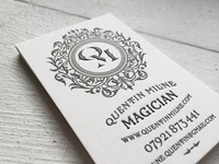 Quentin Milne Business Cards
