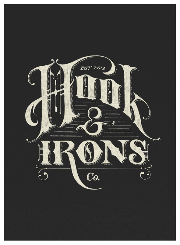 Hook irons negative