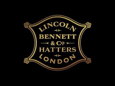 Lincoln Bennett Branding – Lock up identity letters handdrawn type typography branding logo lettering design