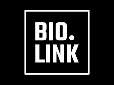 Bio.link Logomark branding bio link logo link in bio
