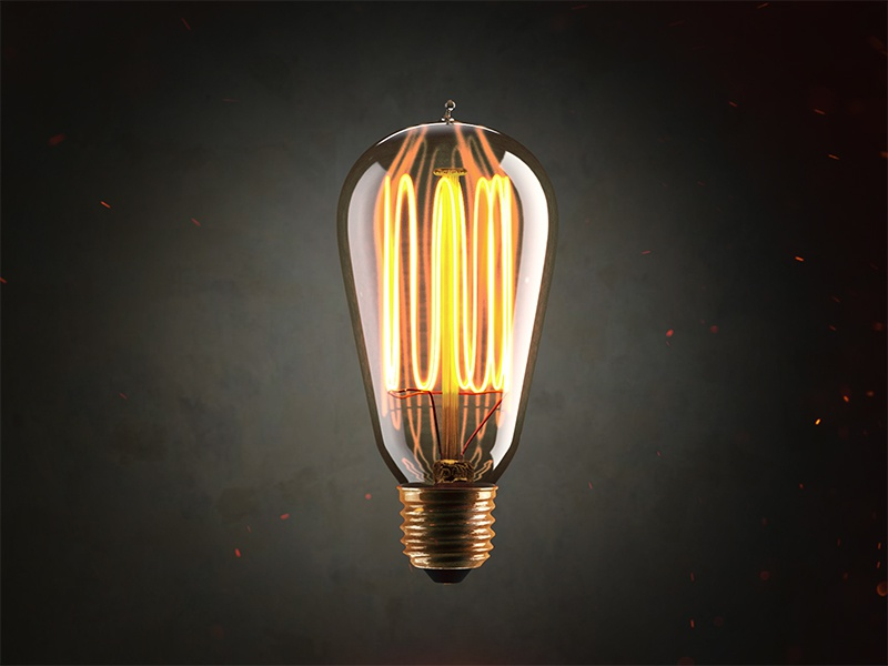 Edison Bulb by Ronny Young on Dribbble