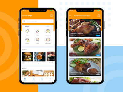 Delivery Food food app mobile list card ios sketch explore ux design app ui