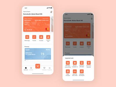 Exploration : Design Bank Apps bank app android clean mobile ios card sketch explore ux design app ui