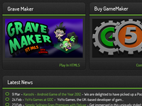 Unofficial Yoyo Games Website Redesign