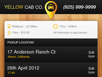Taxi Company Booking App