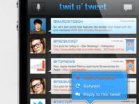 Twit'o'Tweet UI