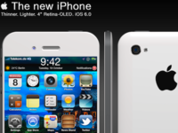 The New iPhone - Front View & iPhone 4 Comparison