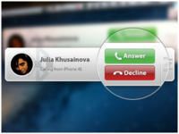 Mac App: Bluetooth Notification for Incoming Calls [+Animation]