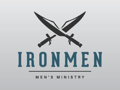 Ironmen Men's Ministry ministry logo church logo ironmen ministry church plant men ministry mens ministry church