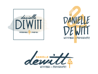 Danielle DeWitt logo options