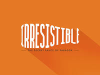 Irresistible series art
