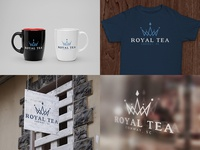 Royal Tea logo/branding