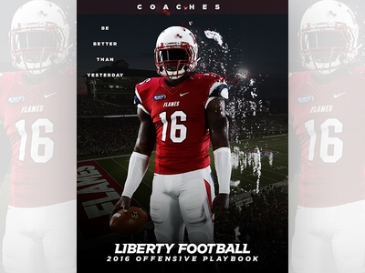 Liberty Football Playbook Cover playbook college football liberty university liberty