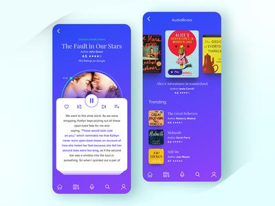 Audio Books App