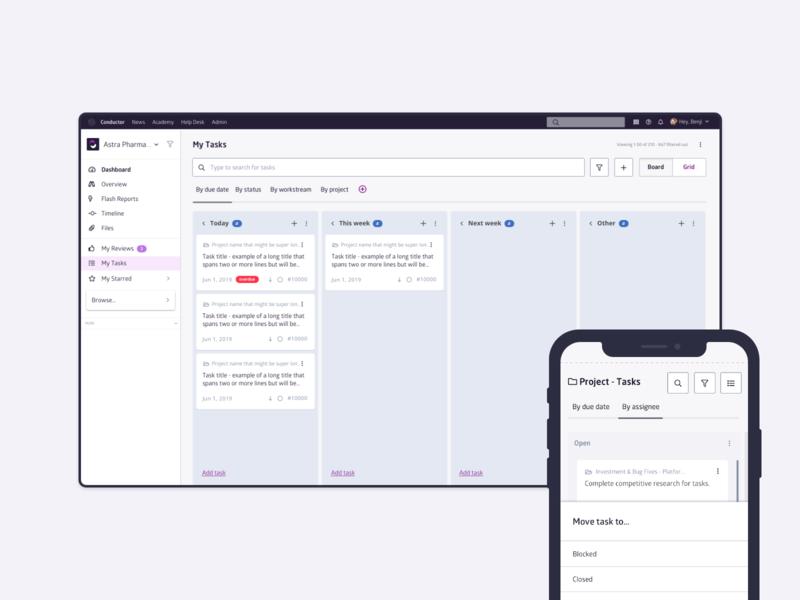 Task Management mobile interface design mobile ui product design ui