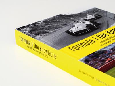 F1 Hardback Data Book hardback publication book design onef1 typographyprintformula