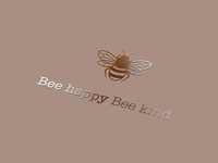 Bee Happy Bee Kind Branding