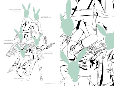 The Bunerglars illustration design